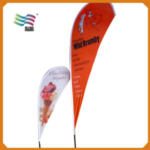 Factory Price Outdoor Polyester Advertising Beach Flag Display (Hy-1120) pictures & photos