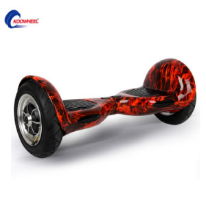 Top Grade Lithium Battery Self Balance Car Standing Two-Wheel Electric Scooter 10inch Pneumatic Samsung Battery pictures & photos