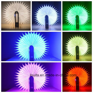 USB Charging Flip Folded LED Book Light for Reading pictures & photos
