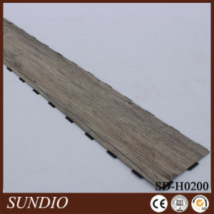 Indoor Laminate Hickory Wood Flooring PVC Plastic Vinyl Flooring pictures & photos