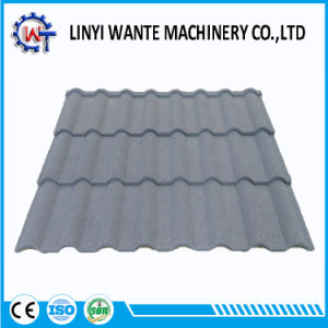 Heat Resistance Building Material Stone Coated Metal Milano Roof Tile pictures & photos