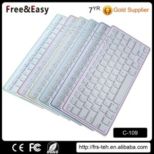 Factory Price Hotsale Multi-Platform Wireless 3.0 Bluetooth Keyboard pictures & photos