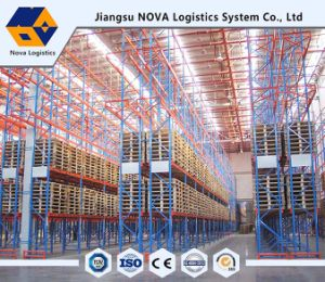 Heavy Duty Pallet Racking for Blue Frame and Orange Beam pictures & photos
