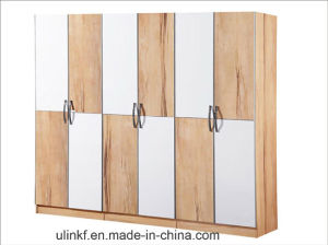 Open Door Modern Wardrobe for Bedroom Furniture Sets (HX-LS036) pictures & photos