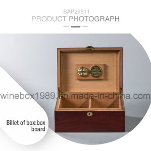 Piano Lacquer MDF Wooden Luxury Cigar Packaging Gift Box pictures & photos