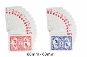 No. 988 Casino Paper Playing Cards pictures & photos
