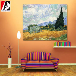 Custom Canvas Printing Canvas Art Painting Inkjet Canvas for Decoration (CAV-01) pictures & photos
