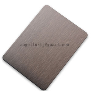 Factory Wholesale Price 430 Grade Stainless Steel Brushed Finish Sheets 1220*2440 Size pictures & photos