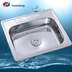 Sanitary Ware Sinks for Kitchen in Stainless Steel 201