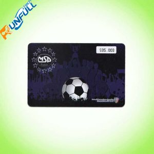 Standard Card Size PVC Card for Supermart Memership Card pictures & photos