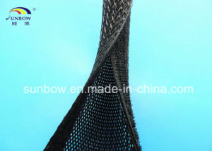 Flame Resistance Expandable Sleeving with Hook & Loop pictures & photos