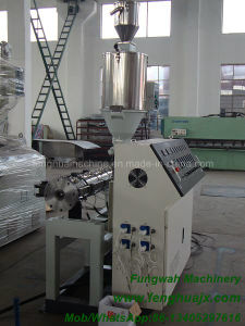 Single Screw Extruding Equipment for PE Plastic Pipe pictures & photos