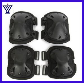 Tactical Military Soft Black Combat Airsoft Knee and Elbow Pads (SYSG-1885) pictures & photos