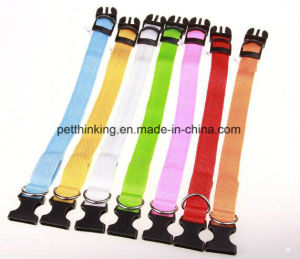 Rechargeable LED Pet Collars by USB Cable pictures & photos