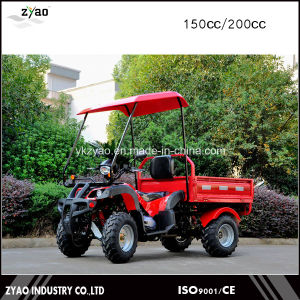 Hot Deisgn 150cc 4 Wheeler ATV for Adults with Trailer pictures & photos