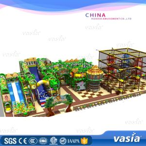 Hot Salling China Wholesale Plastic Kids Indoor Playground Set pictures & photos