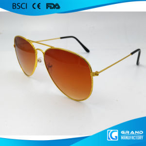 2017 New Product Fancy Style Polarized Metal Sunglasses for Women pictures & photos