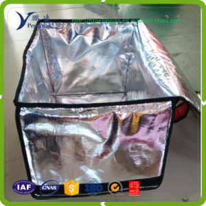 Reflective Aluminium Foil with Woven for Ice Bag pictures & photos