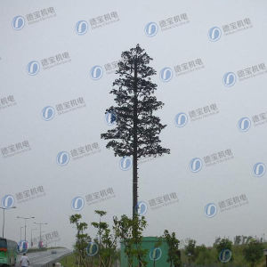 GSM Camouflaged Pine Tree Monopole for Telecom