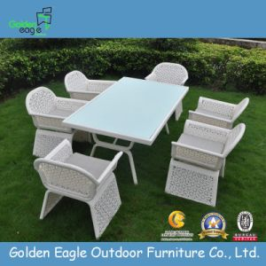 Syhthetic /Plastic Furniture Dining Set pictures & photos