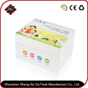 Customized Logo Rectangle Coated Paper Gift Printing Box pictures & photos