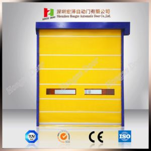 Auto-Recovery High Speed Door/ Pharmaceutical Door Polycarbonate PVC Curtain Roller Shutter pictures & photos