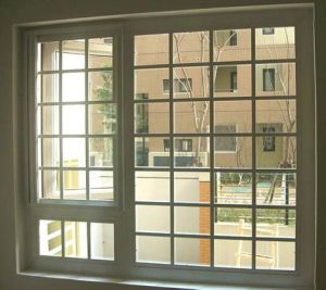 UPVC Window with Colonial Bars Manufacturing PVC Window Hinge PVC/UPVC Window pictures & photos