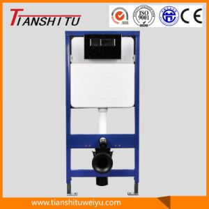 T80A in-Wall Cistern Watermark Concealed Cistern for Wall-Hung Toilet Dual Flush Front Button, Cistern pictures & photos