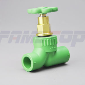 German Style PPR Gate Valve for Hot Water pictures & photos