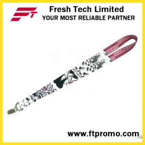 OEM Promotion Gifts Polyester Lanyard with Designed Logo pictures & photos