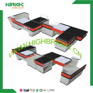 Customized Supermarket Retail Store Checkout Counter Cash Counter pictures & photos