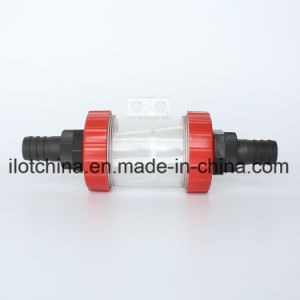 Ilot Transparent Bottle Stainless Steel Filter Mesh Device Systems Filtrator pictures & photos