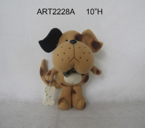 Merry Christmas Cat and Dog Pencil Holder-2asst pictures & photos