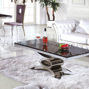 Most Popular Style Stainless Steel Dining Tables pictures & photos
