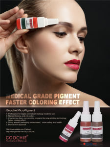 Goochie Natural Tattoo Ink for Permanent Makeup pictures & photos