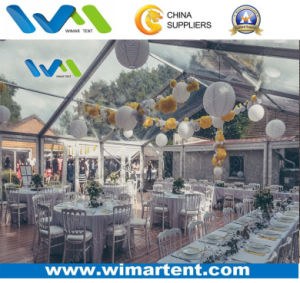 10m Clear Party Weeding Marquee Tent with Flooring in Europe pictures & photos