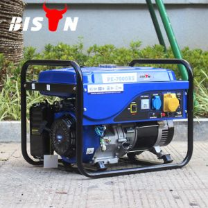 Bison (China) BS7500p 6kw 6kVA 6000W Ce Approved Durable Power Gasoline Portable Generator for Sale pictures & photos