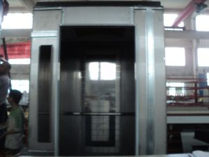 Gold Panoramic Elevator Cabin for Home Lift pictures & photos