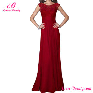 Hexin Wholesale Formal Ladies Long Evening Party Wear Gown Dress pictures & photos