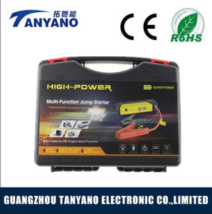 Ergonomic Design Big Power Battery Jump Starter with 16000mAh pictures & photos