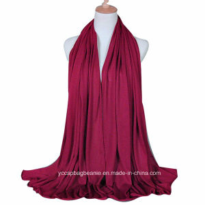 New Large Plain Solid Color Hijab Scarf pictures & photos