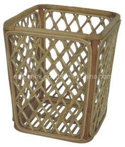 Hotel Natural Color Bamboo Shoe Basket pictures & photos