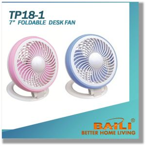 "7"" Foldable Desk Fan, Four Color Are Available pictures & photos"