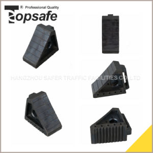 Rubber Car Wheel Chock Stopper pictures & photos