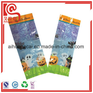 Back Seal Design Plastic Printing Bag with Gusset pictures & photos