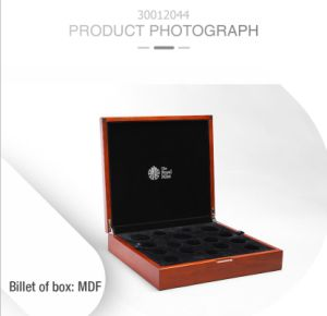 Retro Functional Storage Matte Lacquer MDF Gift Display Box pictures & photos