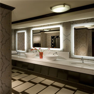 Waterproof Hotel Electric LED Bathroom Mirror with ETL Certificate pictures & photos