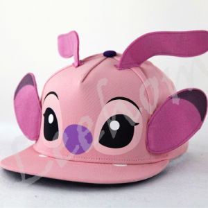 Snapback Flat Brim Fiftted Pink Kids Cap pictures & photos