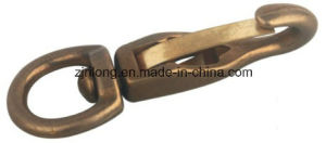 Brass Polished Snap Hook (334B) pictures & photos