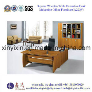 Foshan Factory Wooden Furniture Melamine Executive Office Desk (BF 002#)